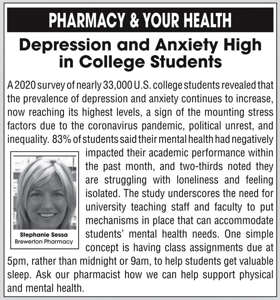 depression and anxiety high in college students