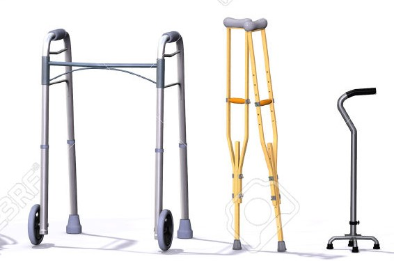 Walkers, Crutches and Canes