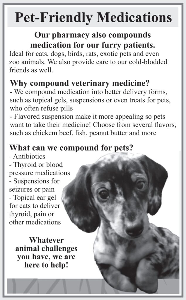 pet friendly medications made specifically for your pet