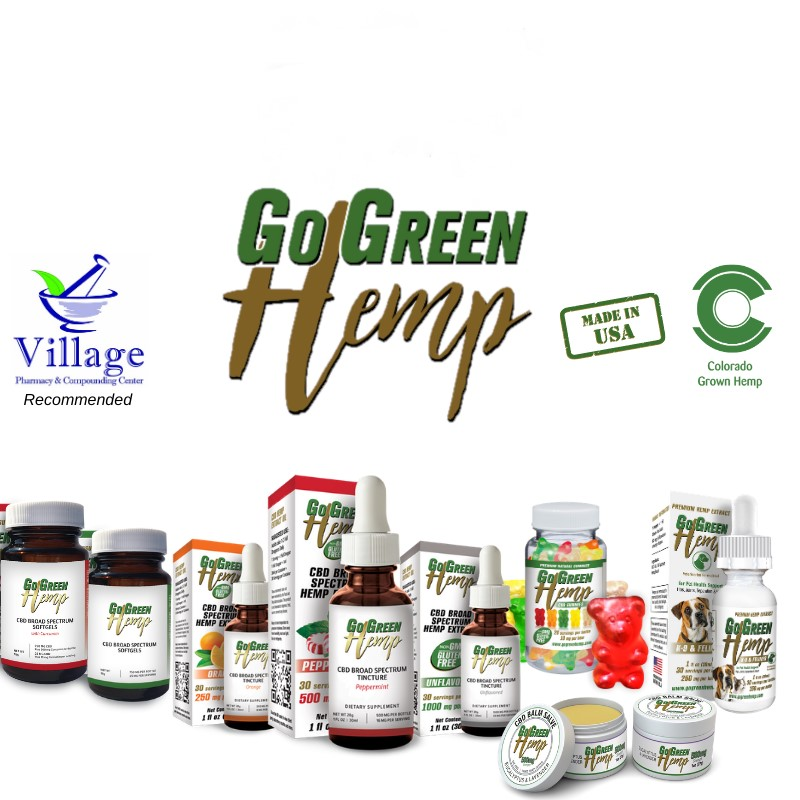 go green cbd- reccommended by village pharmacy central square